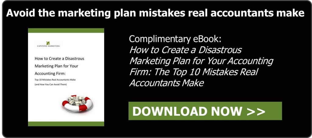CTA for blog - Disastrous Marketing Plan