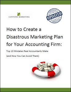 Disastrous Marketing Plan cover-March 2015
