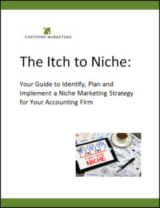 Niche marketing for accountants