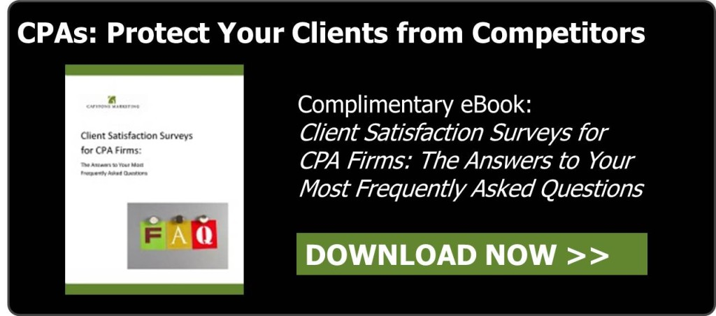 CTA for blog - Client Satisfaction eBook